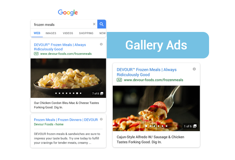 Gallery Ads for Search